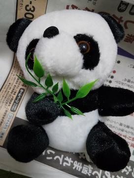 小さくてかわいいパンダのぬいぐるみキーホルダー