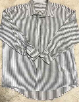 BUSINESS  MODE ストライプYシャツ 3Lサイズ