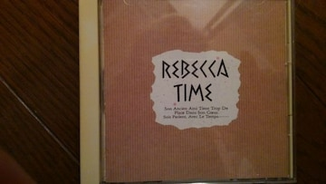 CDソフト REBECCA/TIME