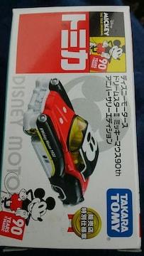トミカ ディズニーモータース ドリームスター�Uミッキーマウス90th 限定品 未開封 新品