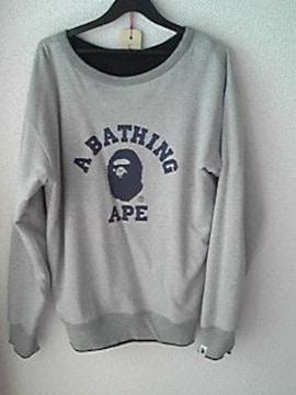 BATHING APE 4面トレーナー エイプ グレースウェット BAPE 即決
