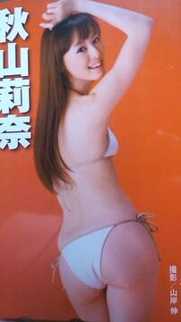 秋山莉奈未使用テレカ増刊大衆〜ショップの半額