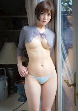■朝比奈祐未■ビキニ水着 美巨乳 グラマー 生写真(即決)7