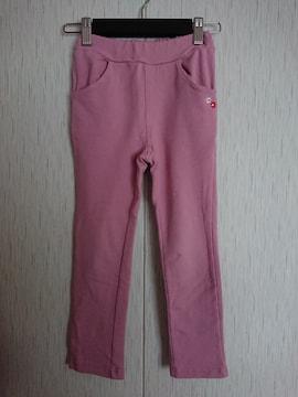 ムージョン購入☆春物のパンツ☆size110☆くすみピンク