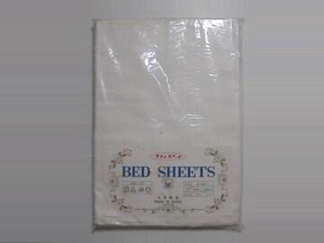フランスベッド株式会社 BED SHEETSベッドシーツ綿100%ホワイトM
