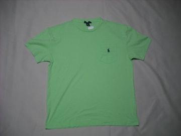 53 男 POLO RALPH LAUREN ラルフローレン 緑 半袖Tシャツ S