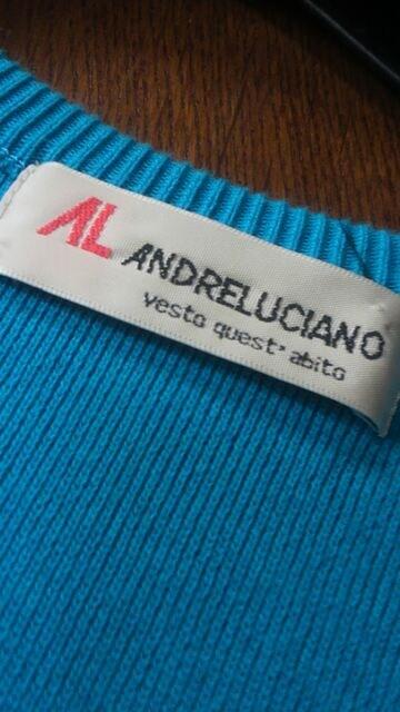 【美品即決】ANDRE LUCHIANO◆洗練サマーニット < 女性ファッションの