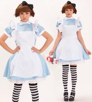 コスプレ メイド服 アリス風 メイド衣装 コスチューム 361