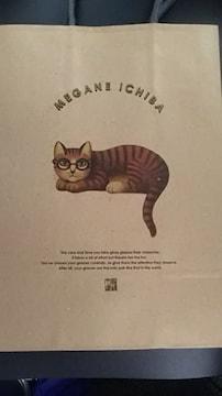 眼鏡市場、手提げ紙袋新品 猫柄