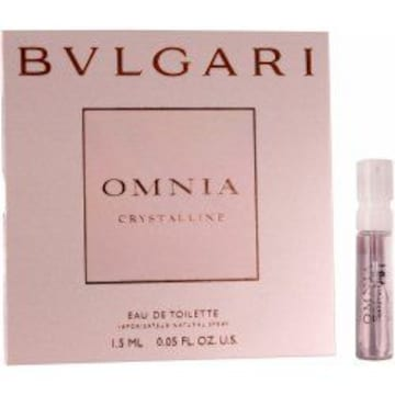 ★BVLGARI(ブルガリ)♪OMNIA♪Crystalline♪EDT/SP♪1.5ml