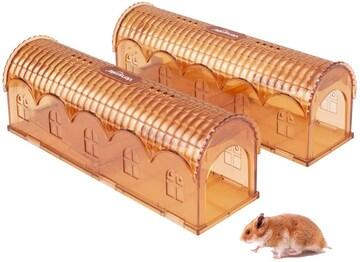 ネズミ捕り ネズミ捕獲器(2個セット)