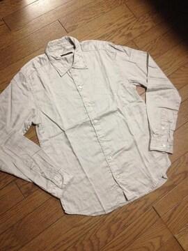 美品 adam et Rope シャツ グレー 日本製 アダムエロペ