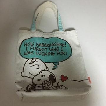 PEANUTS  スヌーピー トートバッグ 布製