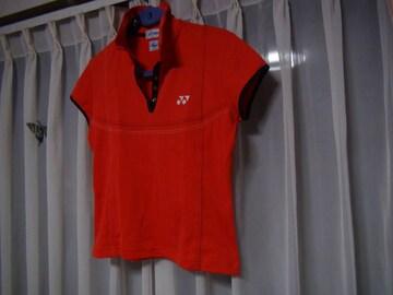 YONEXのポロシャツ(L)赤 日本製!。