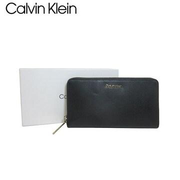 Calvin Klein K60K605668-BDS ファスナー長財布