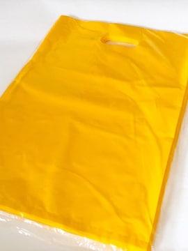 大型〈サフランイエロー〉ハード型発送用ビニールバッグ(100枚)未開封