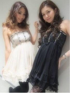 MERCURYDUO☆カラーストーンベアドレス☆ホワイト