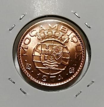 外国古銭 モザンビーク 1974年 1エスクード