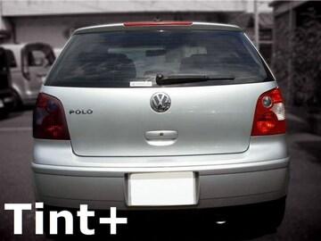 Tint+糊残りナシ VW ポロ 9N テールランプ スモークフィルム