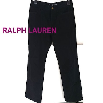 RALPH LAUREN RL ブラック パンツ 黒 チノパン デニム ジーンズ