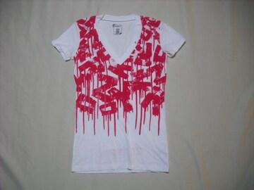 mq564 女 ZOO YORK ズーヨーク 白 Tシャツ Sサイズ