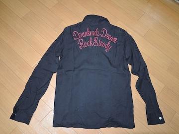 ワコマリアWACKO MARIAボーリングシャツS黒レーヨン刺繍