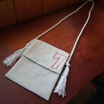 バッグ 背番号7 (手作り・手縫い)