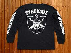 Syndicate★シンジケート★ロンT★新品★XL★黒