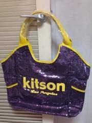 新品☆kitson☆紫☆