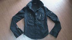 ☆襟ワイヤー入り黒のジャケット☆