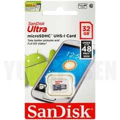 即決 高速48MB/s SANDISK 32GB microSDHC マイクロSD Class10 クラス10