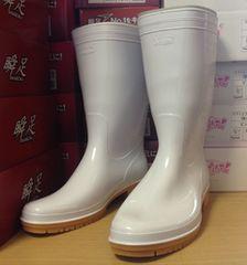 アキレス 耐油抗菌 衛生加工 白ゴム長靴 24.5cm 業務用 ▼直倉
