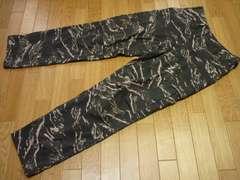 YMCL S-R(L位)タイガーストライプカーゴパンツミリタリーパンツ