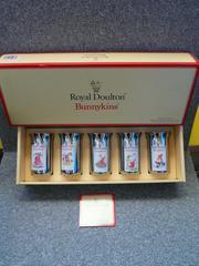 Royal Doulton Bunnykins「スチールコップ5個セット」