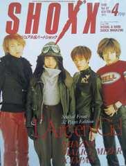 【SHOX'X ショックス 1998年4月号】L'Arc〜en〜Ciel/MALICE MIZER 他