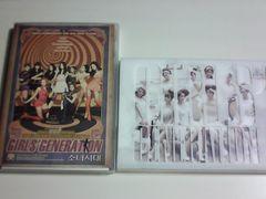■少女時代 期間限定盤CD+DVD 2点セット■K-POP女性アイドルグループ