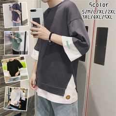 カジュアル Tシャツ メンズ カジュアル 七分Tシャツ18mdt008