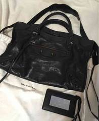 balenciaga 定番 バッグ  バレンシアガ the first  used