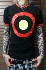 即決FxxkクレイジーカラーターゲットマークTシャツ!ロンドンスカパンクロックモッズスタイル