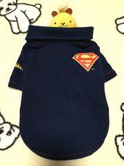 わんちゃん^ ^ドッグウェア*スーパーマン*ポロシャツ*小型犬