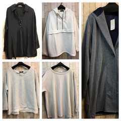 新品☆大きい5L羽織ものやシャツ・パーカー等セットでs510