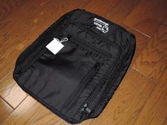 新品GOODENOUGH×VISVIMバッグ黒ポーチケース鞄ヴィズヴィム