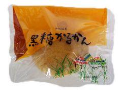 沖縄銘菓 黒糖かるかん 1個 O70M