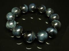 潜在能力を開花させる ブルータイガーアイ16ミリ数珠ブレスレット