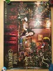 安室奈美恵 セブンイレブンクリスマス限定ポスター