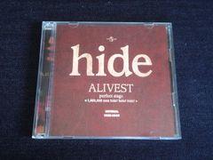 <即決>hide/ALIVEST perfect stage <1,000,000 cuts〜