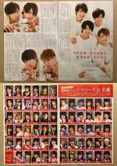 紫耀神宮寺顕嵐宮近 Jr.名鑑◆月刊TVnavi 2018年2月号 切り抜き