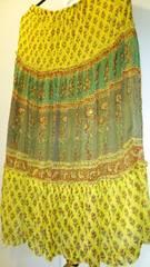セシルマクビー*アジアン風ロングスカート