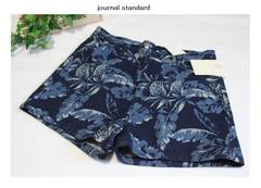 ジャーナルスタンダード*journal standard〓インディゴアロハショートパンツ(38)新品