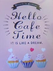Hello cake timeミニメモ新品